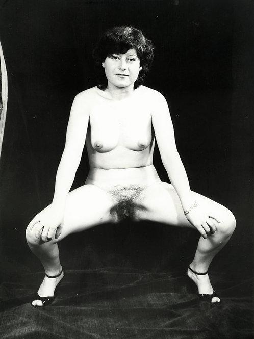 Photographie Amateur Vintage Nu féminin vers 1965. Ref. 962