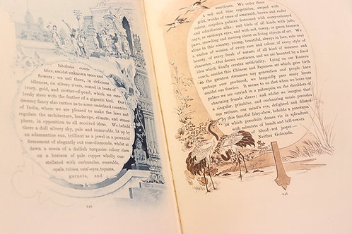 Octave Uzanne. Paul Avril. The Mirror of the World (1889). 100 ex. sur Japon.
