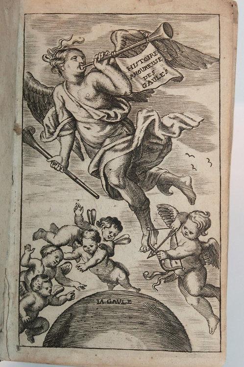 Histoire amoureuse de France par Bussy-Rabutin (1667). Rare exemplaire en vélin