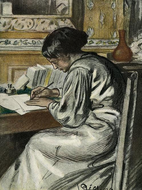Camille Lemonnier. Quand j'étais homme (cahiers d'une femme). Octave Uzanne 1907