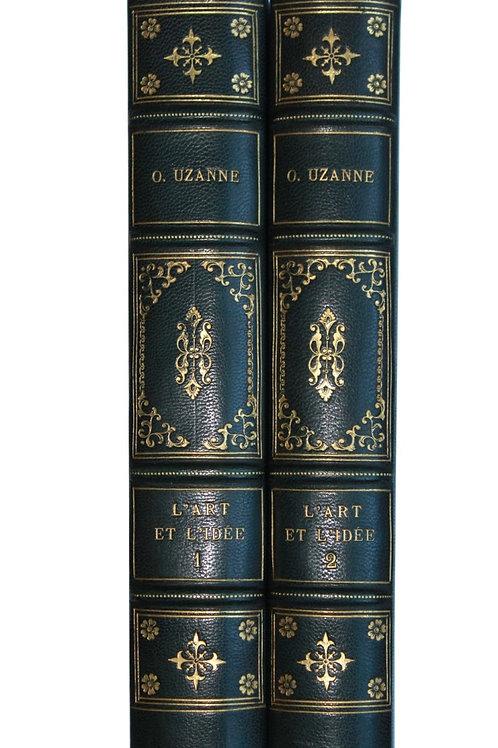 L'Art et l'Idée d'Octave Uzanne, Revue littéraire et artistique (1892)