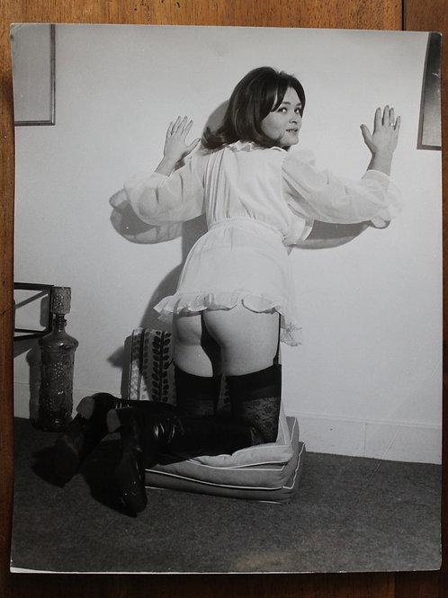 Grand Format. Tirage argentique d'époque (27 x 21 cm) vers 1975 par A. Belorgey
