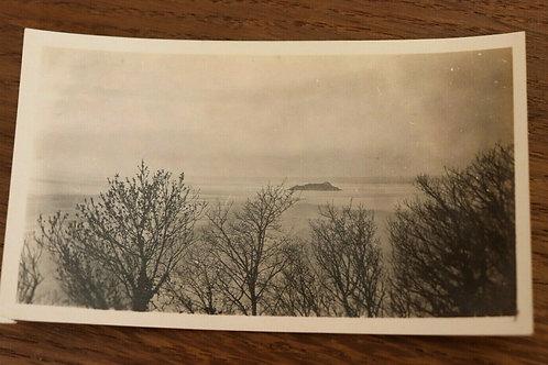 Photo ancienne 1930 Mont-Saint-Michel Manche Normandie