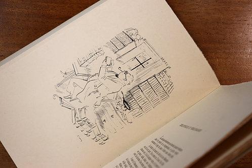 Léo Larguier. Petites Histoires pour Bibliophiles. Rare. 1 des 4 ex. sur Japon.