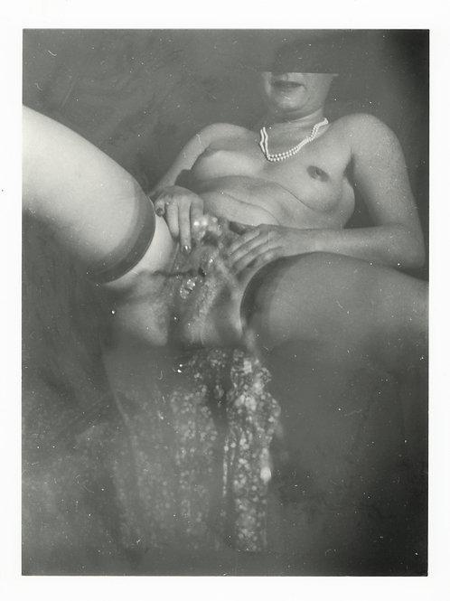 Photographie Amateur Vintage Nu féminin vers 1965. Ref. 987