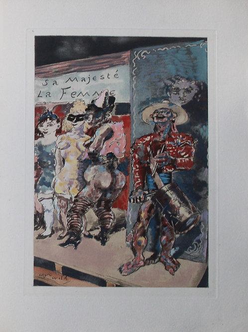Parades Abolies (Cirque) par Pierre Mac Orlan. Illustraté par Roger Wild