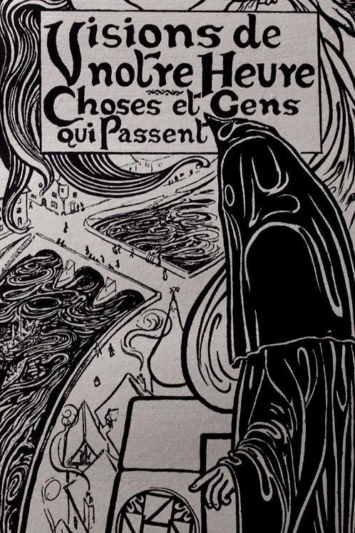 Octave Uzanne. Visions de Notre Heure. Choses et Gens qui passent (1899). 50 ex.
