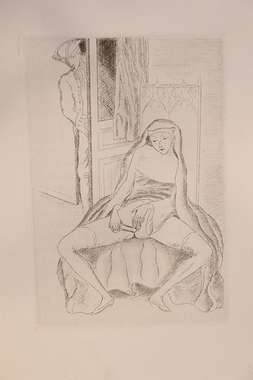 Mirabeau. Le libertin de qualité (1929). 19 eaux-fortes. 1/200 ex. Rare curiosa