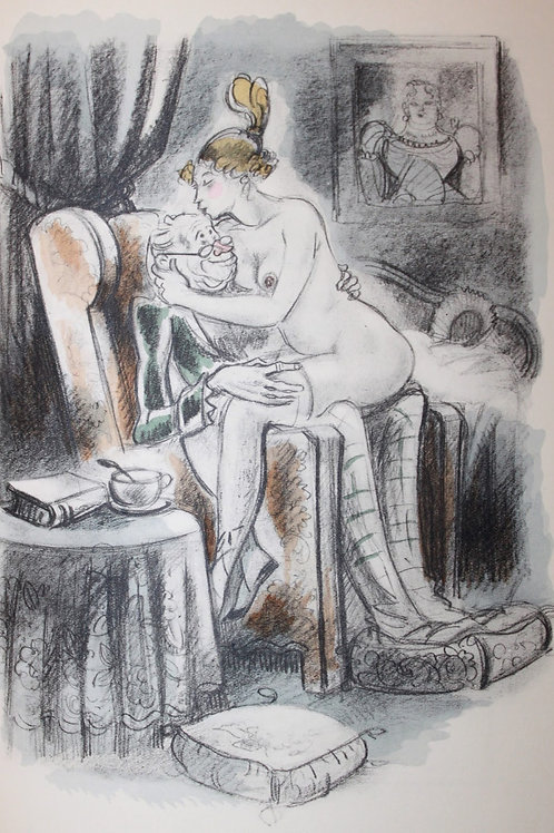 Les Chansons Galantes de Béranger (1943) illustré par André Collot