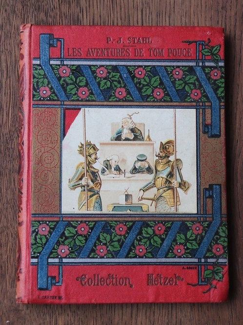 Aventures Tom Pouce Stahl illustré Bertall Cartonnage illustré enfant Hetzel