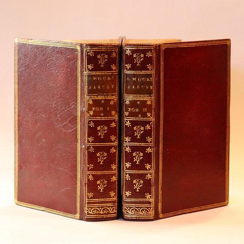 Bussy-Rabutin. Histoire amoureuse des Gaules (1737) et romans. Maroquin époque