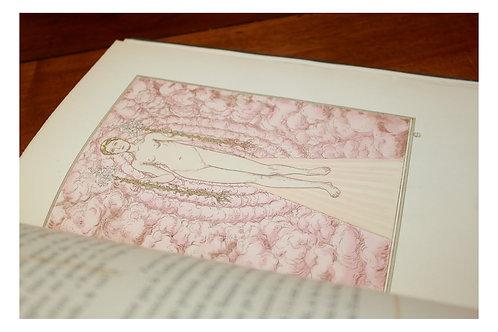 Hespérus par Catulle Mendès illustré par Carloz Schwabe (1904). Symbolisme