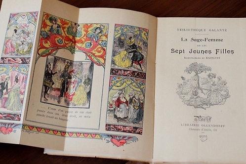 La sage femme galanterie curiosa léger Ollendorff 1900 illustrations Radiguet