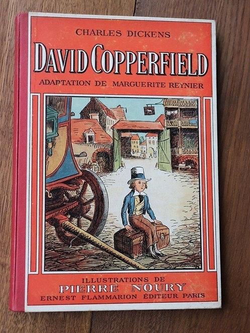 1941 David Copperfield Dickens Livre enfant Conte illustré Noury enfantina