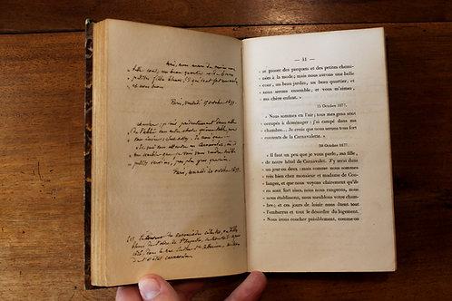 Notice Historique sur L'Hôtel Carnavalet à Paris par Verdot. Ex. de l'auteur