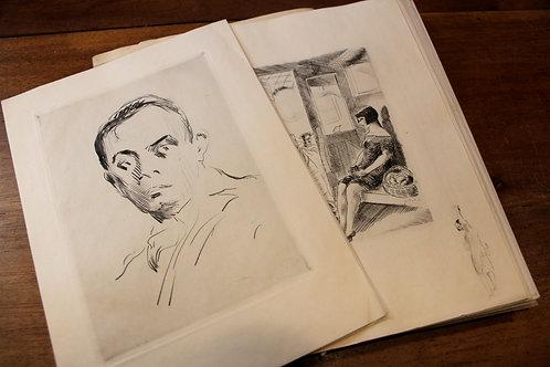 Henri de Montherlant. Un désir frustré mime l'amour (1928). 1 des 12 ex. de tête