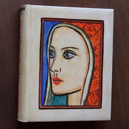 Laszlo Barta (Hungarian artist). Marcel Brion. La Reine Jeanne (1936). 1/16 ex.
