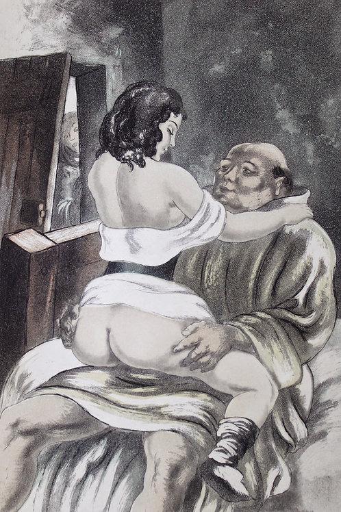 Les Contes de Boccace illustrés par Berthommé Saint-André (1931). Ex. Japon
