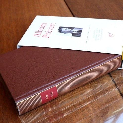1992 Bibliothèque Pléiade Album Jacques Prévert iconographie Gallimard