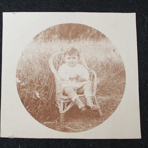 Photographie de bébé. Vintage Snapshot (vers 1930)