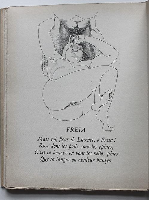 Le Trophée des Vulves Légendaires par Pierre Louÿs, illustré par Hertenberger