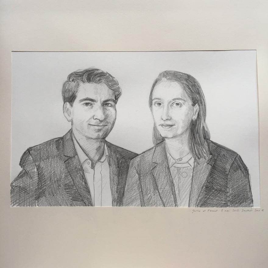 Portrait de mariage, 2019