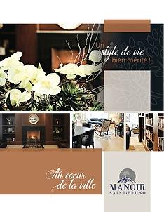Brochure - Résidence - Manoir St-Bruno (Rive-Sud)