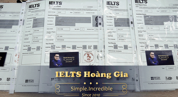 ielts score reports - success - all in one attempt.