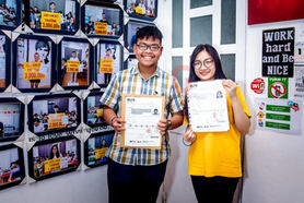 Winners of IELTS in 1 attempt.