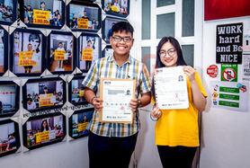 Winners of IELTS in 1 attempt.