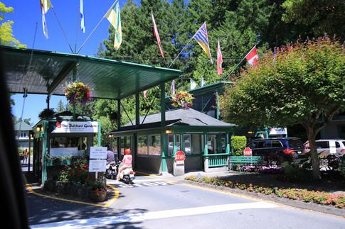 Butchard Garden Entrance.