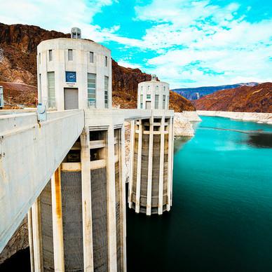 Lake Mead-Hoover Dam -Nevada- USA
