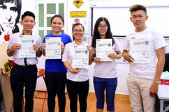 All winners of IELTS in 20 days