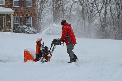 Schneefräse, Winterdienst