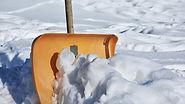 Schneeschaufel, Winterdinst