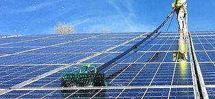 Reinigung Photovoltaik