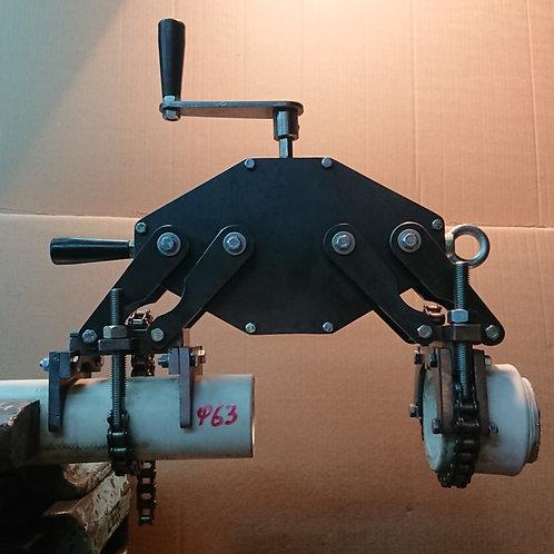 """Зажимное устройство для пайки ПП труб """"Спайдер 110"""""""