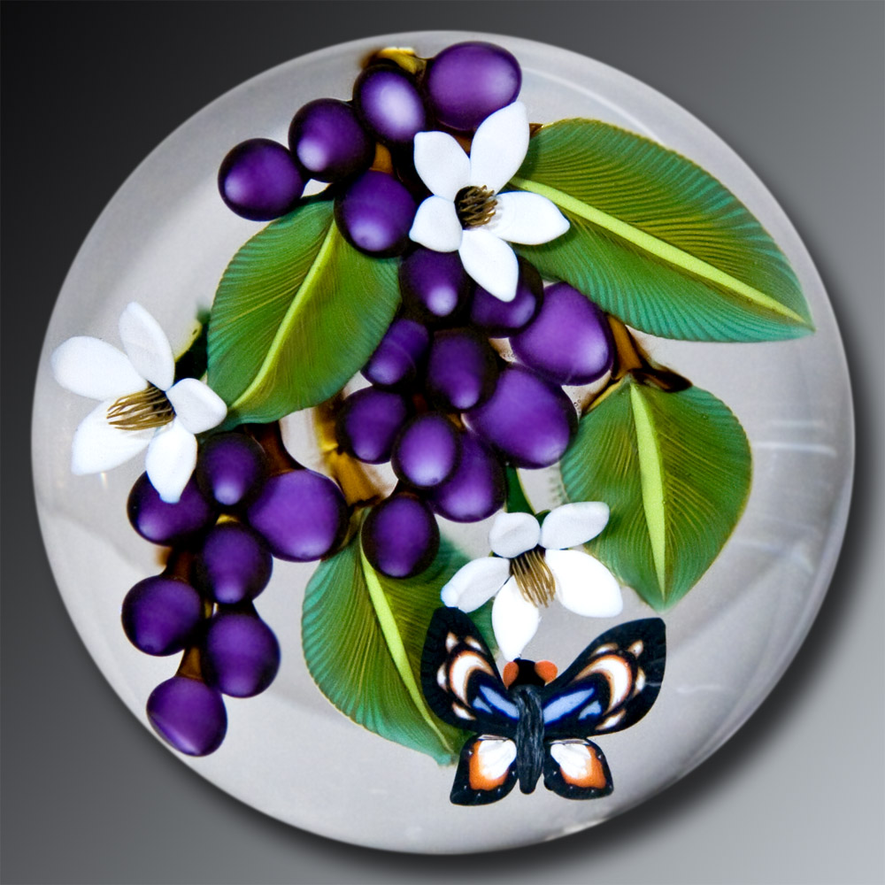 Butterfly and Grape