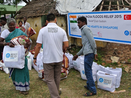Mercy Relief: Disaster relief supported by long-term sustainable development