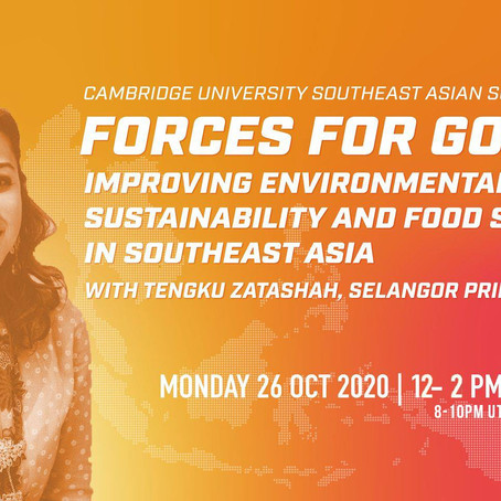 Forces for Good: Improving Environmental Sustainability and Food Security in Southeast Asia