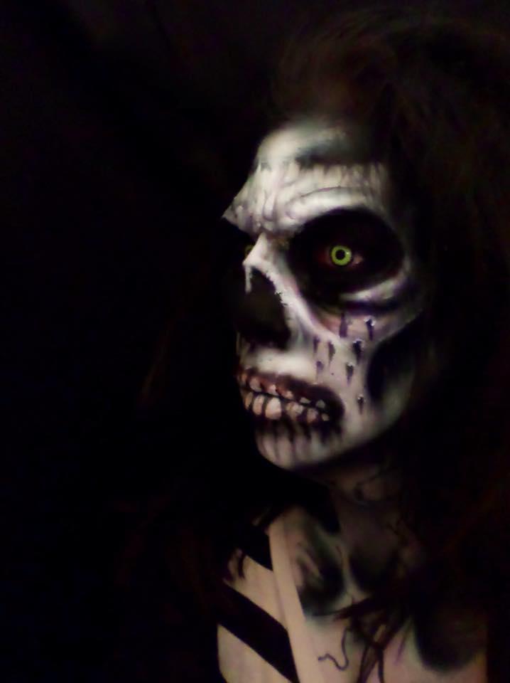Jacquie Lantern - Zombie Prosthetic