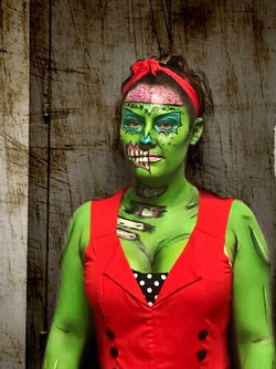 Jacquie Lantern - Pop Art Zombie