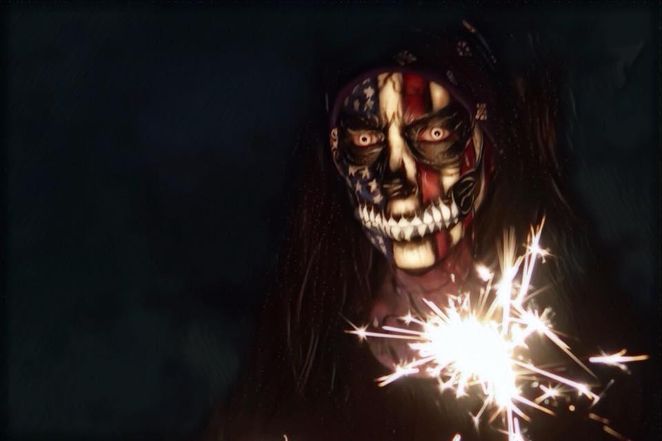 Jacquie Lantern - 4th of July Skull