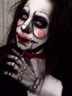 Jacquie Lantern - Billy Saw Puppet