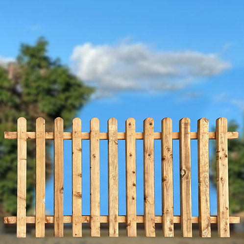 SSR Picket Fence Panels - Various Sizes