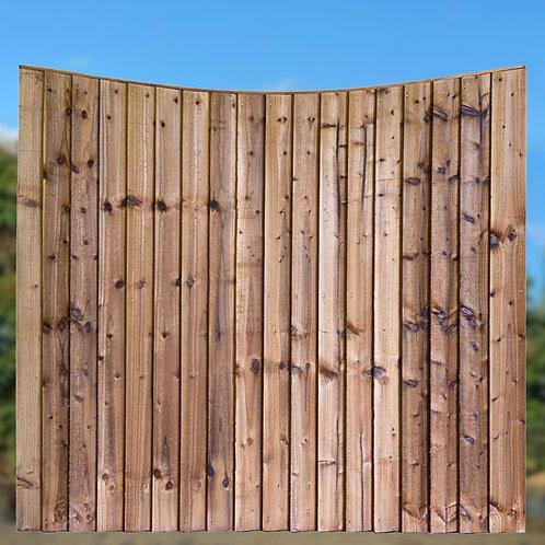 SSR Closeboard Concave Fence Panels - Various Sizes