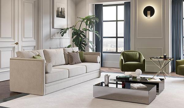 sala-estar-sofa-branco-tacha-dourada-mes