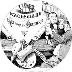 Vintage beer illustration Wachsmann