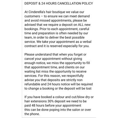Cancelation