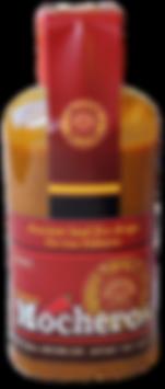 Mocheros bottle-front side